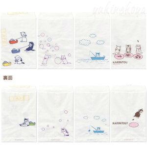 【猫の封筒】猫のプリントが可愛いちょっと嬉しい白封筒「テープ」(4柄12枚入り)★ポタリングキャット(猫雑貨ねこ雑貨ネコ雑貨猫グッズねこグッズネコグッズキャット)