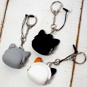 【【猫顔ミニがま口】mimiPOCHI-BITFriends(ミミポチビットフレンズ)シリコンがまぐち★p+gdesign(小銭入れアクセサリーポーチ猫雑貨猫グッズネコ雑貨ねこ柄キャット)
