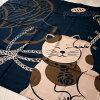 風呂敷福招き猫縁起ふろしき【開運亭】日本製(猫雑貨猫グッズネコ雑貨ねこ柄キャット)
