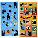 【猫のシール】黒猫Scratchスクラッチ シール★米田民穂(ステッカー 猫雑貨 ねこ雑貨 ネコ雑貨 猫グッズ ねこグッズ…