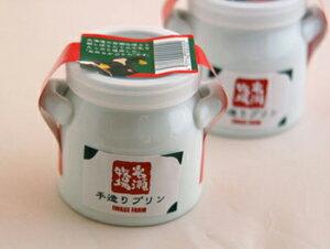 岩瀬牧場手造りプリンミルク缶プリン6個セット缶がとってもかわいいです♪