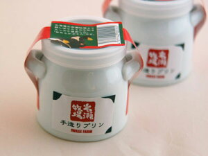 岩瀬牧場手造りプリンミルク缶プリン6個セット