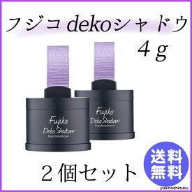 Fujiko フジコ dekoシャドウ 4g 2個セット 送料無料
