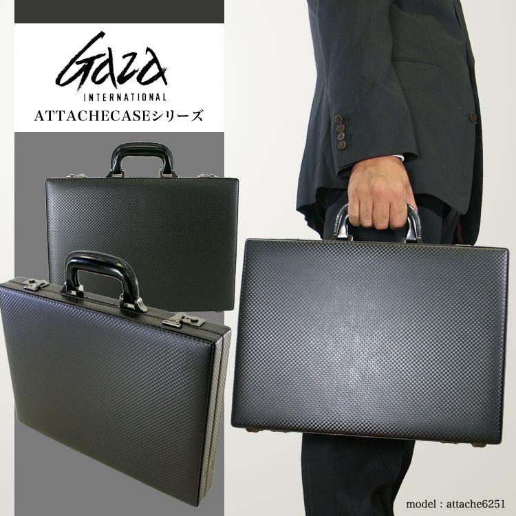 ビジネスバッグ アタッシュケース メンズ GAZA ガザ ATTACHECASE アタッシュ 合成皮革 アタッシュケース A4 ヨコ型 日本製 メンズバッグ バッグ プレゼント ギフト ブランド ランキング 青木鞄