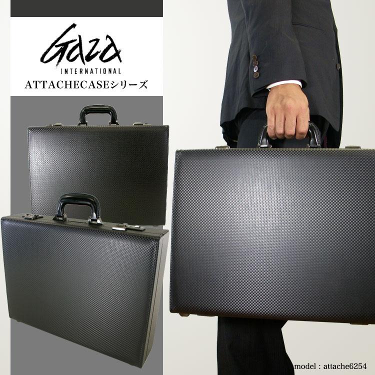 ビジネスバッグ アタッシュケース メンズ GAZA ガザ ATTACHECASE アタッシュ 合成皮革 アタッシュケース B4 ヨコ型 日本製 メンズバッグ バッグ プレゼント ギフト ブランド ランキング 青木鞄