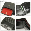 二折、 二折錢包男式 LIBERO libero 義大利皮革兩個折疊皮革義大利皮革皮革錢包和皮包可用饋贈的禮品品牌排名