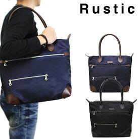 【20周年記念クーポン配布中!】トートバッグ メンズ Rustic ラスティック Cool クール 大きめ 革付属コンビ A4 横型 軽量 日本製 撥水 メンズバッグ バッグ ブランド プレゼント 鞄 かばん カバン bag 送料無料 totebag men's
