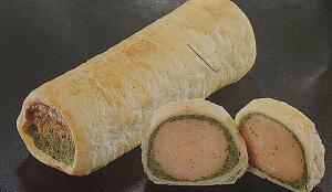 はかた地鶏と香草パイ包み 約280g(L14.5×W5×H4cm)×25本(本740円税別)業務用 ヤヨイ