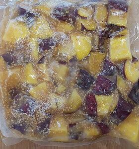 サツマイモ( さつまいも甘露煮 )胡麻餡 ( レモン風味 ) 1kgX13P(P1110円税別) 業務用 冷凍 ヤヨイ