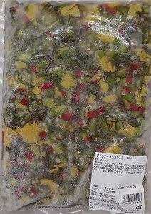 惣菜 鮮やか おくら 湯葉 わさび 800gX14P(P1040円税別) 業務用 冷凍 オクラ ヤヨイ