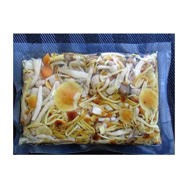 国産(長野県産・静岡県産)きのこミックス水煮 1kg×15P(P1,300円税別)業務用 ヤヨイ