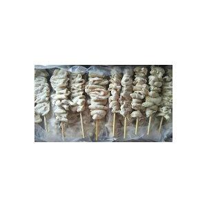中国産 スチーム鶏皮串(約30gx50本)x6箱(箱1500円税別)イベントに 業務用 ヤヨイ