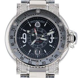 アクアノウティック AQUANAUTIC キングサブコマンダー キングクーダ K39002B02M04SOS ブラック文字盤 メンズ 腕時計 【新品】