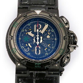 アクアノウティック AQUANAUTIC キングサブクロノダイブ KRP22BGRNEJ01 ブラック文字盤 メンズ 腕時計 【新品】