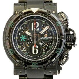 アクアノウティック AQUANAUTIC その他 サブコマンダー KRP2202HBS22 ブラック文字盤 メンズ 腕時計 【未使用】