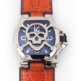 アクアノウティック AQUANAUTIC キングトノー スカルマスクダイヤ TN3H00WSKLJ21 ブラック文字盤 メンズ 腕時計 【新品】