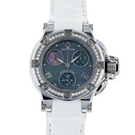アクアノウティック AQUANAUTIC プリンセスクーダ ベゼルダイヤ P00B6N01C03 ブラック文字盤 レディース 腕時計 【新品】