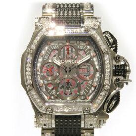 アクアノウティック AQUANAUTIC キングトノー クロノグラフ ベゼル・ブレスダイヤ TNSV32SKN01T02SH グレー文字盤 メンズ 腕時計 【新品】