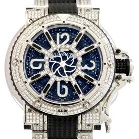アクアノウティック AQUANAUTIC キングサブコマンダー ベゼル・ブレスダイヤ KSP32NWFDMT02SH ブラック文字盤 メンズ 腕時計 【新品】