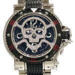 アクアノウティック AQUANAUTIC キングサブコマンダー スカルマスクダイヤ KSP00NWNCSKLT02 新品 腕時計 メンズ