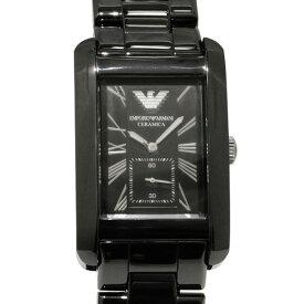 アルマーニ ARMANI その他 エンポリオ アルマーニ AR1406 ブラック文字盤 レディース 腕時計 【新品】