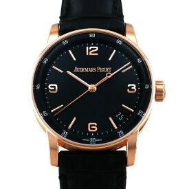 オーデマ・ピゲ AUDEMARS PIGUET CODE 11.59 バイ オーデマ ピゲ オートマティック 15210OR.OO.A002CR.01 ブラック文字盤 新品 腕時計 メンズ
