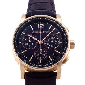 オーデマ・ピゲ AUDEMARS PIGUET CODE 11.59 バイ オーデマ ピゲ クロノグラフ 26393OR.OO.A616CR.01 パープル文字盤 新品 腕時計 メンズ