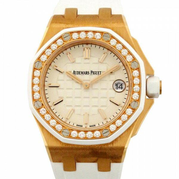 オーデマ・ピゲ AUDEMARS PIGUET ロイヤルオーク オフショア 67540OK.ZZ.A010CA.01 ホワイト文字盤 レディース 腕時計 【新品】