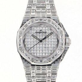オーデマ・ピゲ AUDEMARS PIGUET ロイヤルオークオフショア オートマティック 15130BC.ZZ.8042BC.01 全面ダイヤ文字盤 中古 腕時計 メンズ