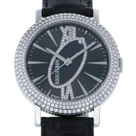 ブシュロン BOUCHERON ロンド オートマチック WA010308 ブラック文字盤 新品 腕時計 メンズ