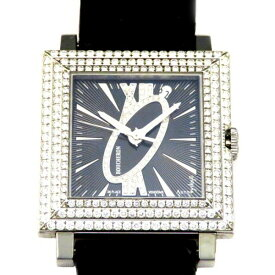 ブシュロン BOUCHERON その他 キャレ WA011306 ブラック文字盤 メンズ 腕時計 【新品】