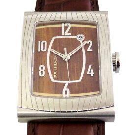 ブシュロン BOUCHERON その他 リフレ オートマチック WA009219 ブラウン文字盤 メンズ 腕時計 【未使用】