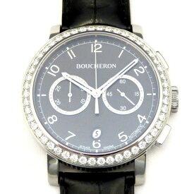 ブシュロン BOUCHERON その他 パナム WA010211 ブラック文字盤 メンズ 腕時計 【新品】