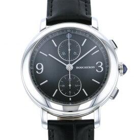 ブシュロン BOUCHERON その他 エピュール クロノグラフ WA021302 ブラック文字盤 メンズ 腕時計 【新品】