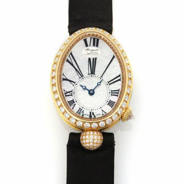 ブレゲ BREGUET クイーン オブ ネイプルズ 8928BR/51/844 DD0D ホワイトシェル文字盤 レディース 腕時計 【新品】