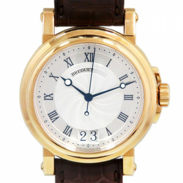 ブレゲ BREGUET マリーン ラージデイト 5817BA/12/9V8 シルバー文字盤 メンズ 腕時計 【新品】
