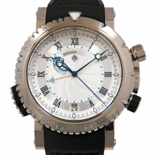 ブレゲ BREGUET マリーンロイヤル 5847BB/12/5ZV ホワイト文字盤 メンズ 腕時計 【新品】