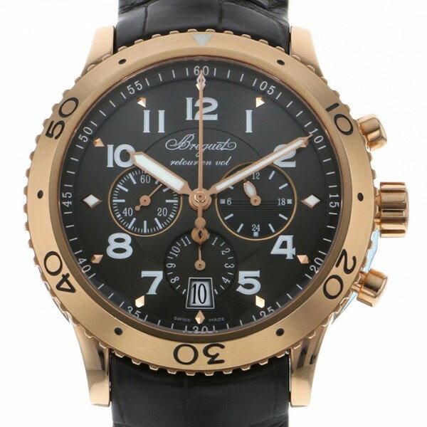 ブレゲ BREGUET タイプXXI 3810BR/92/9ZU ブラウン文字盤 メンズ 腕時計 【中古】