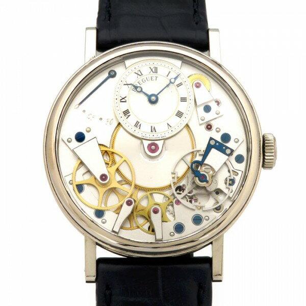ブレゲ BREGUET クラシック トラディション 7027BB119V6 シルバー文字盤 メンズ 腕時計 【中古】