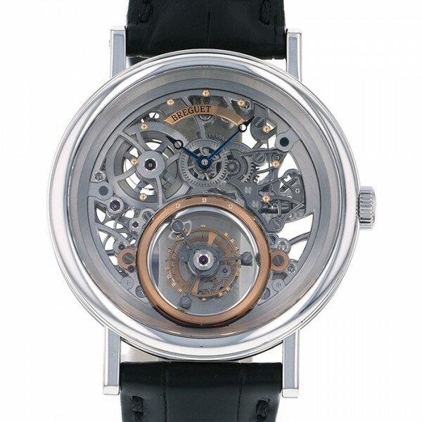 ブレゲ BREGUET トゥールビヨン メシドール 5335PT/42/9W6 スケルトン文字盤 メンズ 腕時計 【中古】