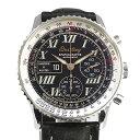 ブライトリング BREITLING ナビタイマースパシオグラフ A36030.1 ブラック文字盤 メンズ 腕時計 中古