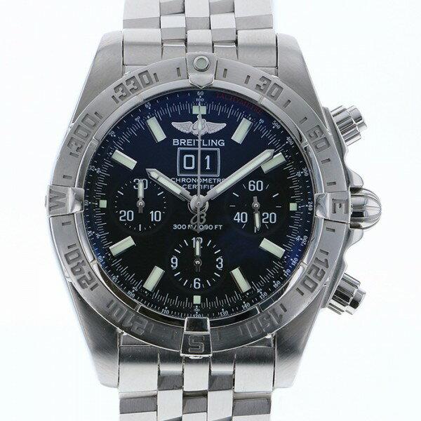 ブライトリング BREITLING ブラックバード A44359 ブラック文字盤 メンズ 腕時計 【中古】