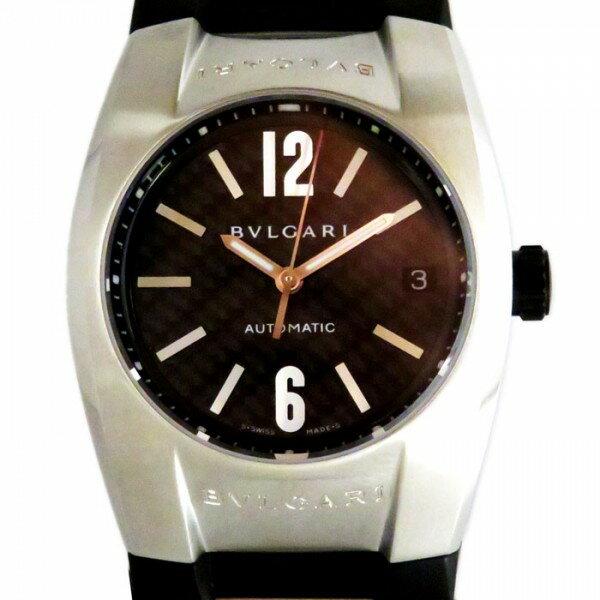 ブルガリ BVLGARI エルゴン EG35BSVD ブラック文字盤 メンズ 腕時計 【新品】