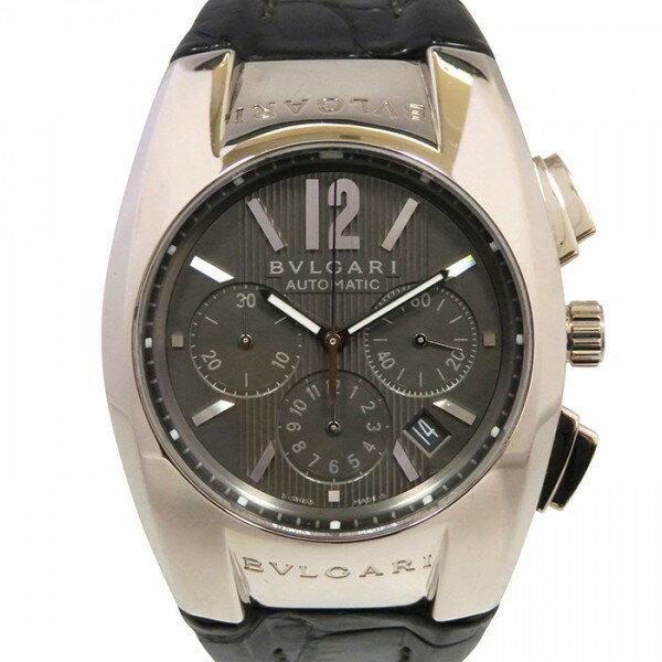 ブルガリ BVLGARI エルゴン クロノグラフ EGW40GCH グレー文字盤 メンズ 腕時計 【中古】