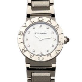ブルガリ BVLGARI ブルガリブルガリ BBL26WSS/12 ホワイト文字盤 レディース 腕時計 【新品】