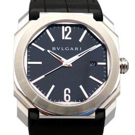 ブルガリ BVLGARI オクト BGO41BSLD ブラック文字盤 新品 腕時計 メンズ