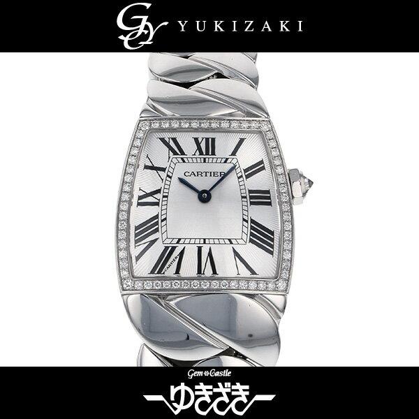 カルティエ CARTIER ラドーニャLM WE60019G シルバー文字盤 メンズ 腕時計 【中古】