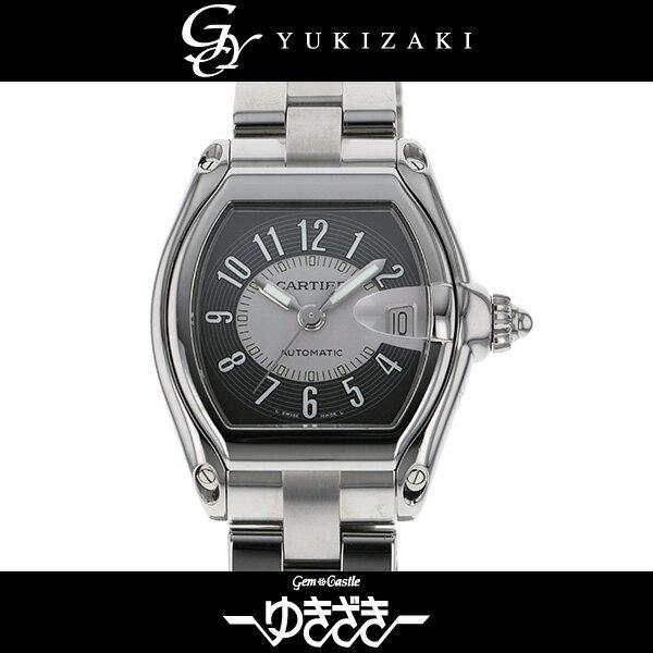 カルティエ CARTIER ロードスター W62001V3 ブラック/シルバー文字盤 メンズ 腕時計 【未使用品】