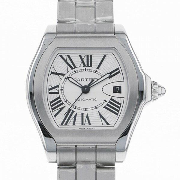 カルティエ CARTIER ロードスター LM W6206017 シルバー文字盤 メンズ 腕時計 【新品】