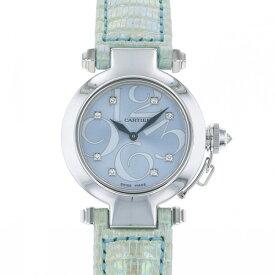 カルティエ CARTIER パシャ 32 WJ123121 ブルー文字盤 レディース 腕時計 【新品】